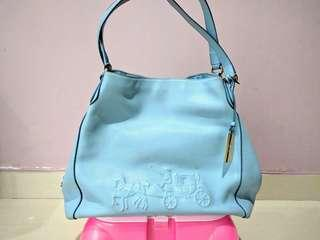 Coach NY Bags Light Blue Medium Original