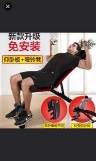 舉重健身椅腹肌板仰臥起坐板升級高承重 (舉國) (加100蚊直送屋企) (gym exercise bench)