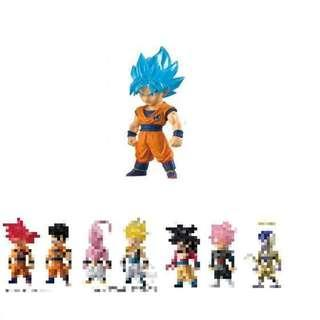 全新 Dragon Ball DB Z Adverge SP 2 02 龍珠 Z 超 食玩 盒蛋 藍髮 神 孫悟空 1 盒