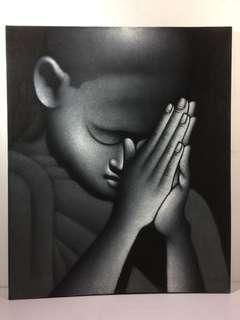 Buddha Canvass Painting
