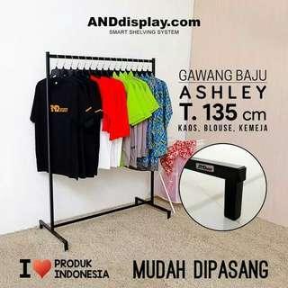 Rak Gawang Baju Ashley 135
