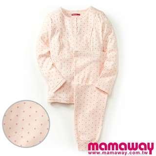 🚚 媽媽餵 mamaway 點點孕哺兩用居家服 月子睡衣 哺乳睡衣組 孕婦睡衣組 哺乳家居服 哺乳居家服組