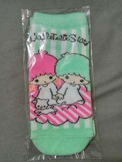 Sanrio Little Twins Star 短襪一