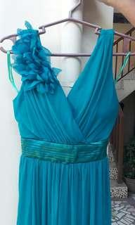 P500 Blue Cocktail Dress for Special Occasion