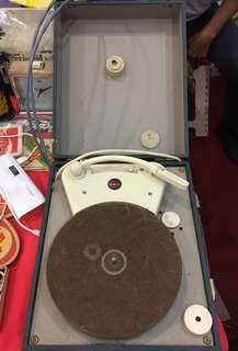 Vintage Stella Portable Record Player