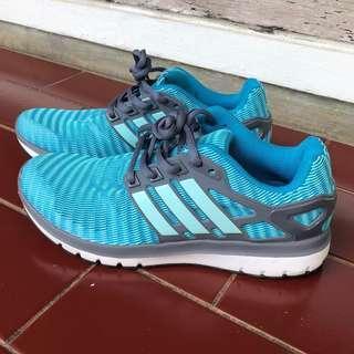 Sepatu running Adidas energy cloud cloudfoam grey blue / sepatu olahraga