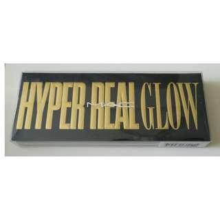 Brand New MAC Hyper Real Glow Palette Eyeshadow Makeup Cosmetics