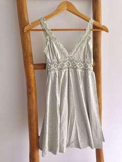Crochet Lace Babydoll Singlet Top Tank Top