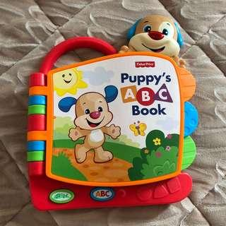 Fisher Price Puppy's ABC Book