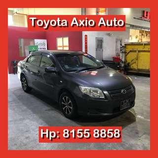 Toyota Axio 1.5 Auto Grab Go Jek Car Rental