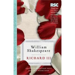 🚚 [外文書][二手書][文學小說]  RICHARD III: RSC SHAKESPEARE 理查三世 莎士比亞