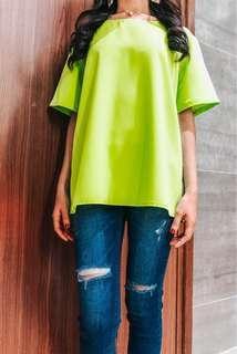 Apple green top