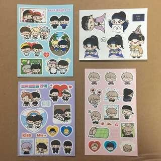 🚚 Exo Fanart Stickers Chanyeol And Baekhyun