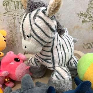Mothercare Zebra Soft Toy