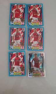 Match Attax Arsenal