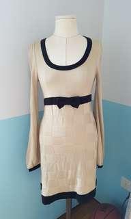 🚚 Romantic korean-style knit dress