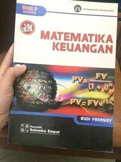 Matematika keuangan Budi frensidy penerbit Salemba empat