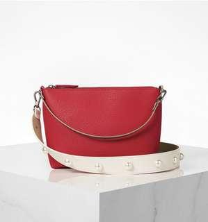 Flat pingobag 22 basic pearl edition line set-red