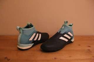 (UK9.5) ADIDAS Ace Tango 17+ PureControl Turf Soccer/Futsal Shoes