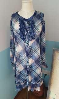 🚚 Tartan printed dress
