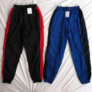 Factorie Coloured Panel Shell Trackpants