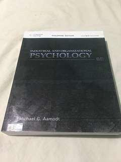Aamodt Industrial Organization Psychology Book 8th Edition