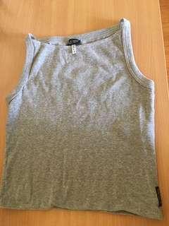 Armani Jeans grey knit top