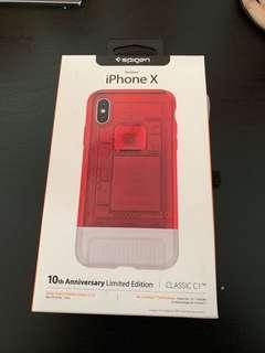 🚚 Spigen 10th anniversary case iphone X