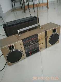 METZ RADIO CASSETTE  VINTAGE
