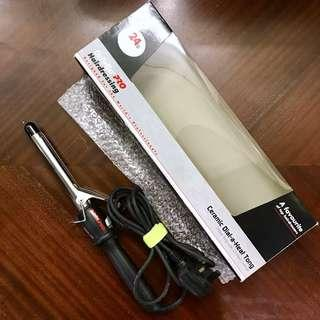 陶瓷捲髮夾 19cmBabylissPro Curling Iron