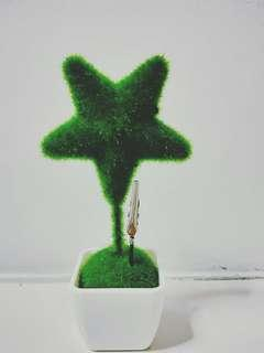 Artificial Star Plant Paper Holder