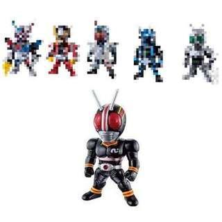 全新未開 1盒 Converge Kamen Rider Part 13 No  75 幪面超人 拉打 假面騎士 黑日 BLACK
