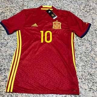 Spain Euro 2016 Home Jersey