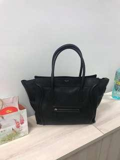 CELINE NAY BLUE MINI LUGGAGE