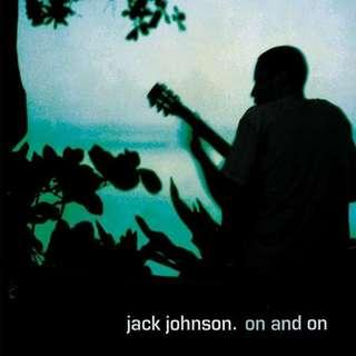 🚚 Jack Johnson On And On Vinyl Album