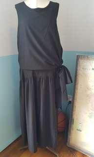 🚚 Side-tie Maxi Dress