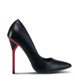 Something Borrowed - Black Pointed Heels