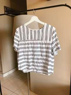 Stripe Crop Top [FREE POST{