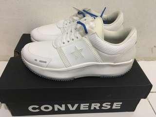 Sepatu converse putih ori run star ox