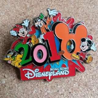 Disney Pin 2010 迪士尼襟章