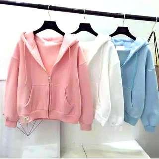 Bomber basic bahan babyterry fit to L😍
