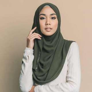Tudung People Numa Luxe in Olive