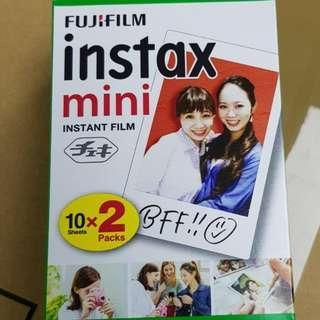 日本制造 富士 Fujifilm Instax Mini  - 即影即有Mini相紙 20張 白邊