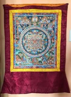 Ancient Thangka Paintings From Tibet