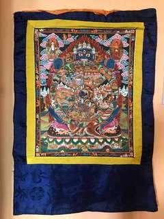 Ancients Thangka Paintings From Tibet