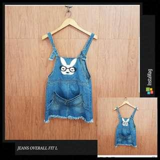 JEANS OVERALL FIT L Kcl