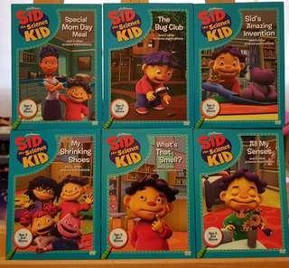 "Children's DVD ""SID the Science Kid"""