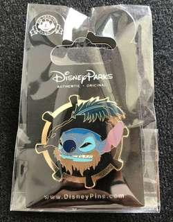 海盜stitch史迪仔-disney pin迪士尼襟章