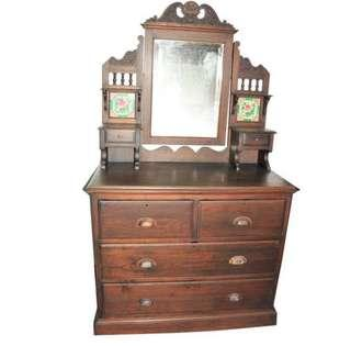 Price Reduce - Antique Colonial Dressing Table