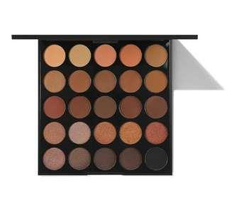 Morphe 25A Copper Spice Eyeshadow Pallet